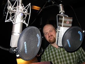 Sound Editor John Bowen at Sync Sound.